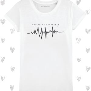 Tricou femei personalizat Heartbeat femei