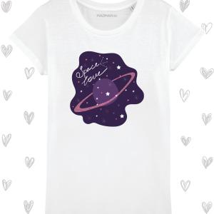 Tricou femei personalizat Space love